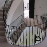 Bespoke hand railing system for a high end property in London.