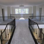 Bespoke hand railing system for a high end property.