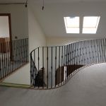 Farm house / barn conversion staircase.