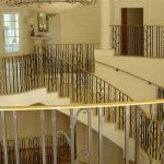 Three floor balustrade system in a refurbished high end Leicestershire property.
