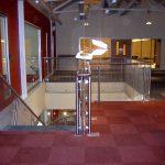Cannons Fitness Centre Barnsley mesh balustrades.