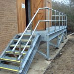 Palmer Construction Substation stairs