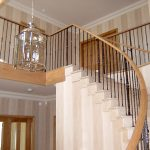 Balustrade in a new property in Boston Spa.
